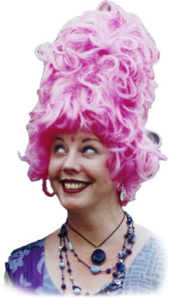 Bethann Shannon pink wig