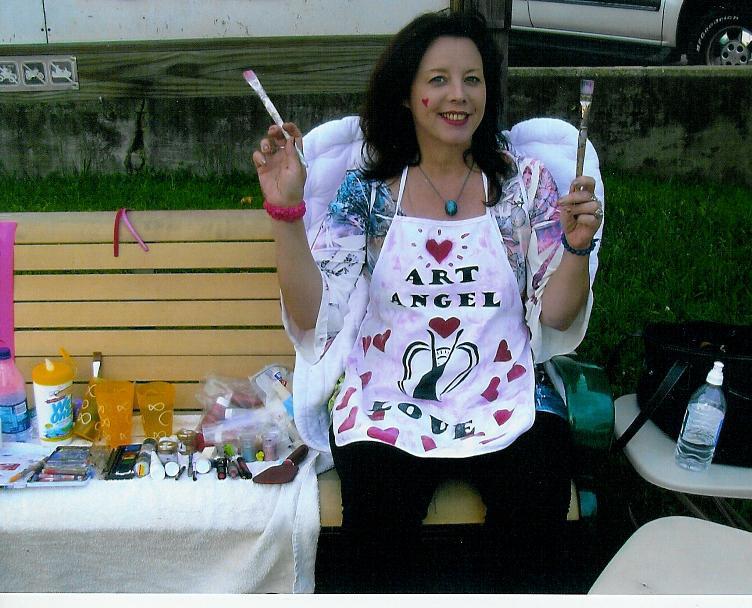 The Art Angel At Collins Diner 2008