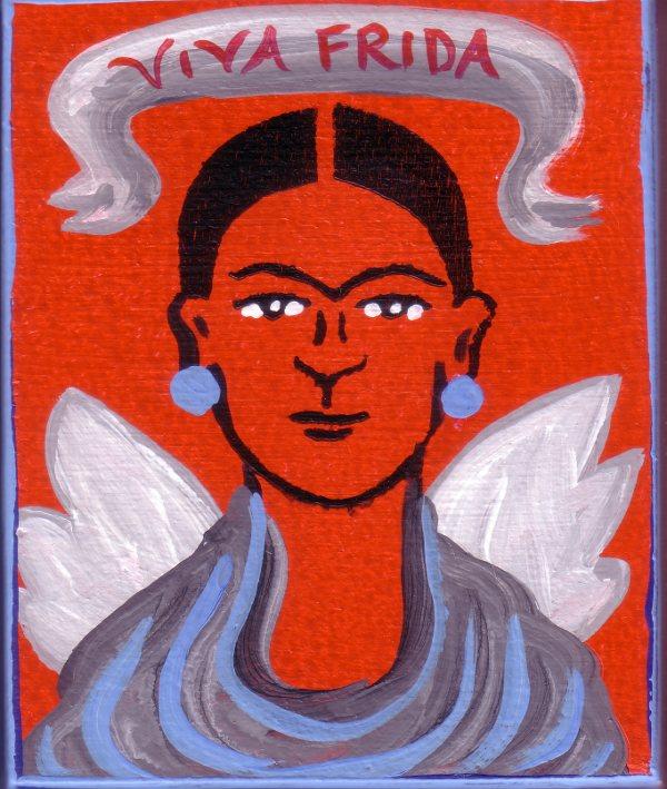 Frida Kahlo by Bethann Shannon