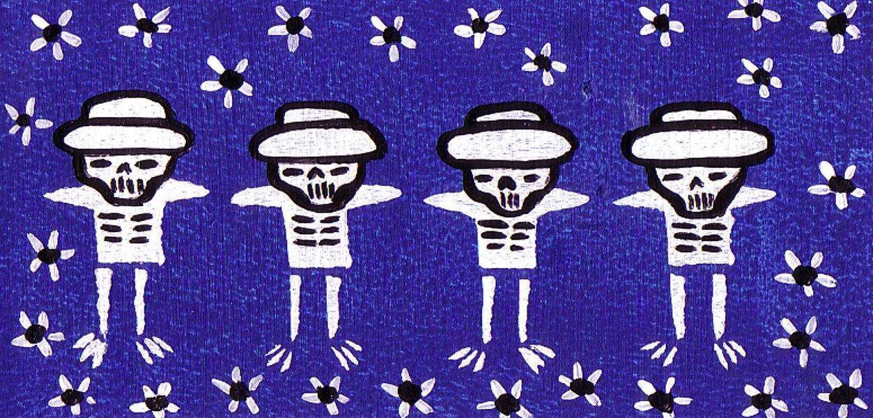 Dia De Los Muertos ~ 4 Dead Musicians
