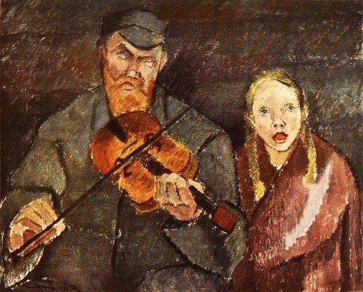 Sokea soittoniekka (Blind musician) by Alvar C...