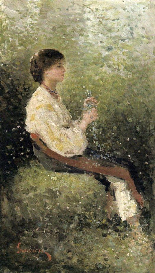 """Rodica"" by Nicolae Grigorescu."