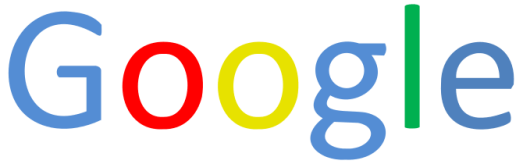 English: SVG version of the Google name