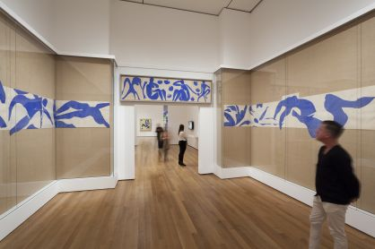 The Swimming Pool, Henri Matisse, at MoMA