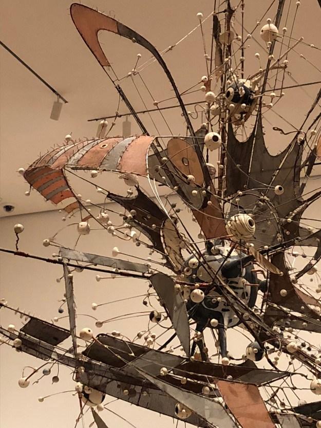 Untitled (detail), Lee Bontecou, 1980-1998, MoMA