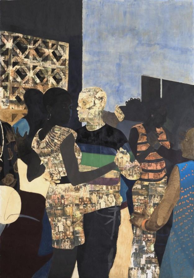 Njideka Akunyili Crosby, I Refuse to be Invisible, 2010, artist image