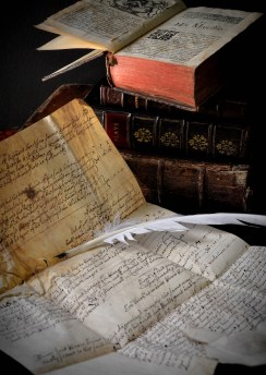 Parchment and quill 1