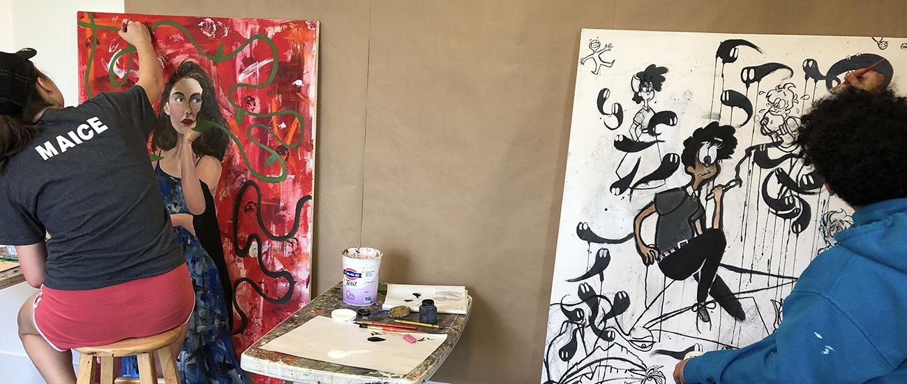 Teen Painting Class