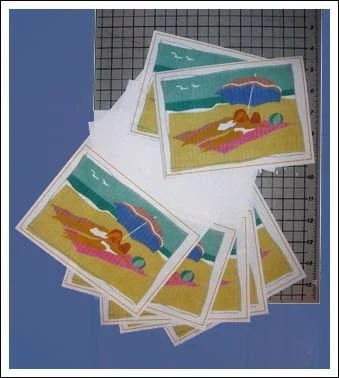 Hp photosmart the artful crafter beach greeting cards m4hsunfo