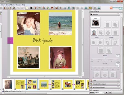 Mymemories Scrapbooking Software The Artful Crafter