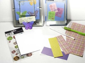 Butterfly Spring Card Supplies