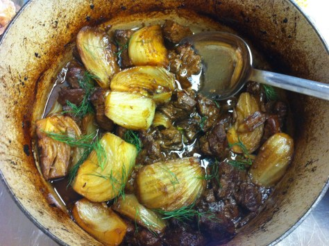 Lamb and Fennel Stew