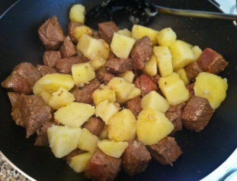 Seasoned Beef & Potatoes