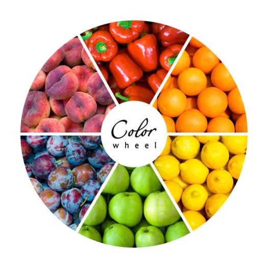 Food Color Wheel
