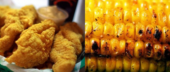 Alabama Fried Catfish & Grilled Corn