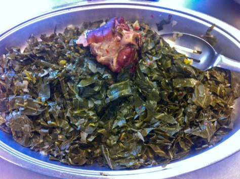 Southern collard greens