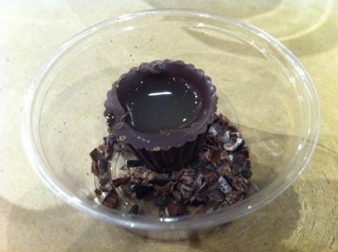 Baci Chocolate Cups