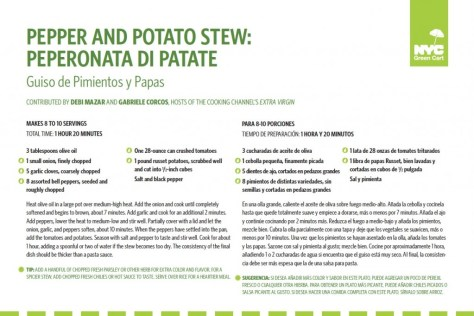 Pepper Potato Stew Recipe