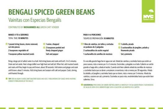 Bengali Spiced Green Beans