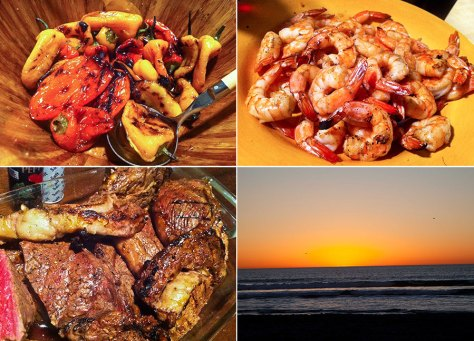 Sunset Grilled Feast
