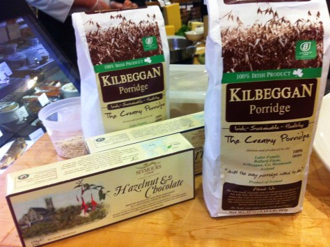 Kilbeggan Irish Porridge & Seymours Biscuits
