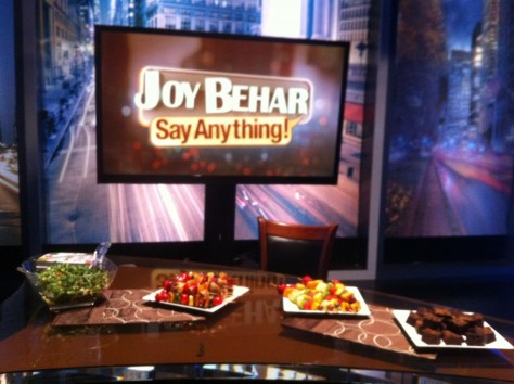 Food Styling for the Joy Behar Show