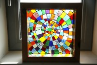 Coloured Glass Mosaic Window Boxes | the art hand . art ...