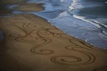 Sand Art Sean Corcoran The Copper Coast Waterord Beach Ireland 14