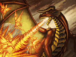 Red Dragon by Tobias Vyseri
