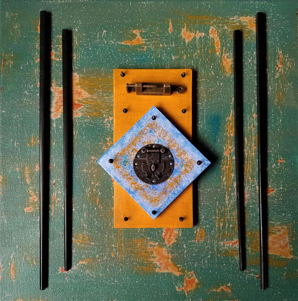 Unlocked Doorway by Ted DeMarsh