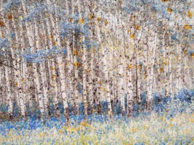 Blue Poplars by Carsten Arnold