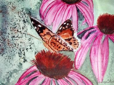 Cone Flowers by Jocelyn Bichard