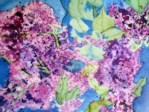 I Love Lilacs by Jocelyn Bichard