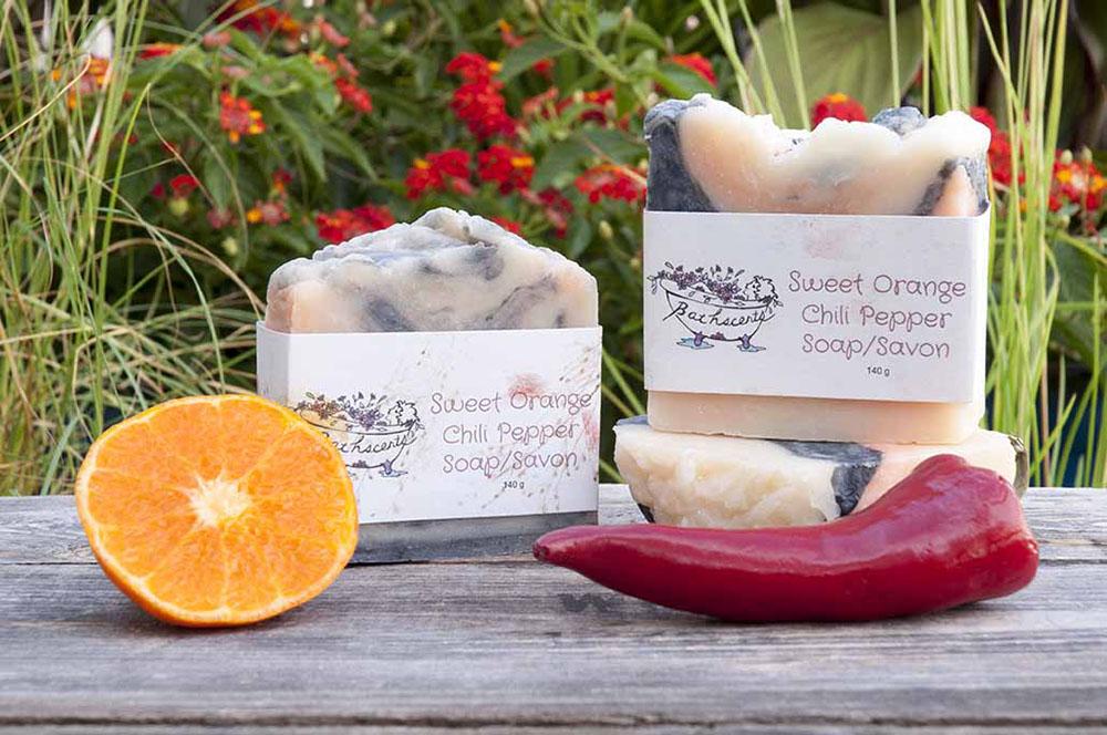 Sweet Orange Chili Pepper Soap