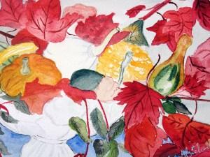 Thanksgiving Bouquet by Jocelyn Bichard