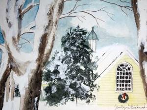 The Irving Church by Jocelyn Bichard