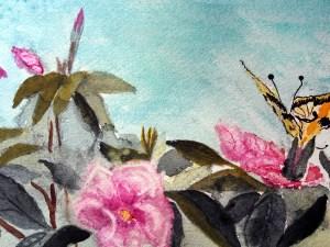 Wild Roses by Jocelyn Bichard