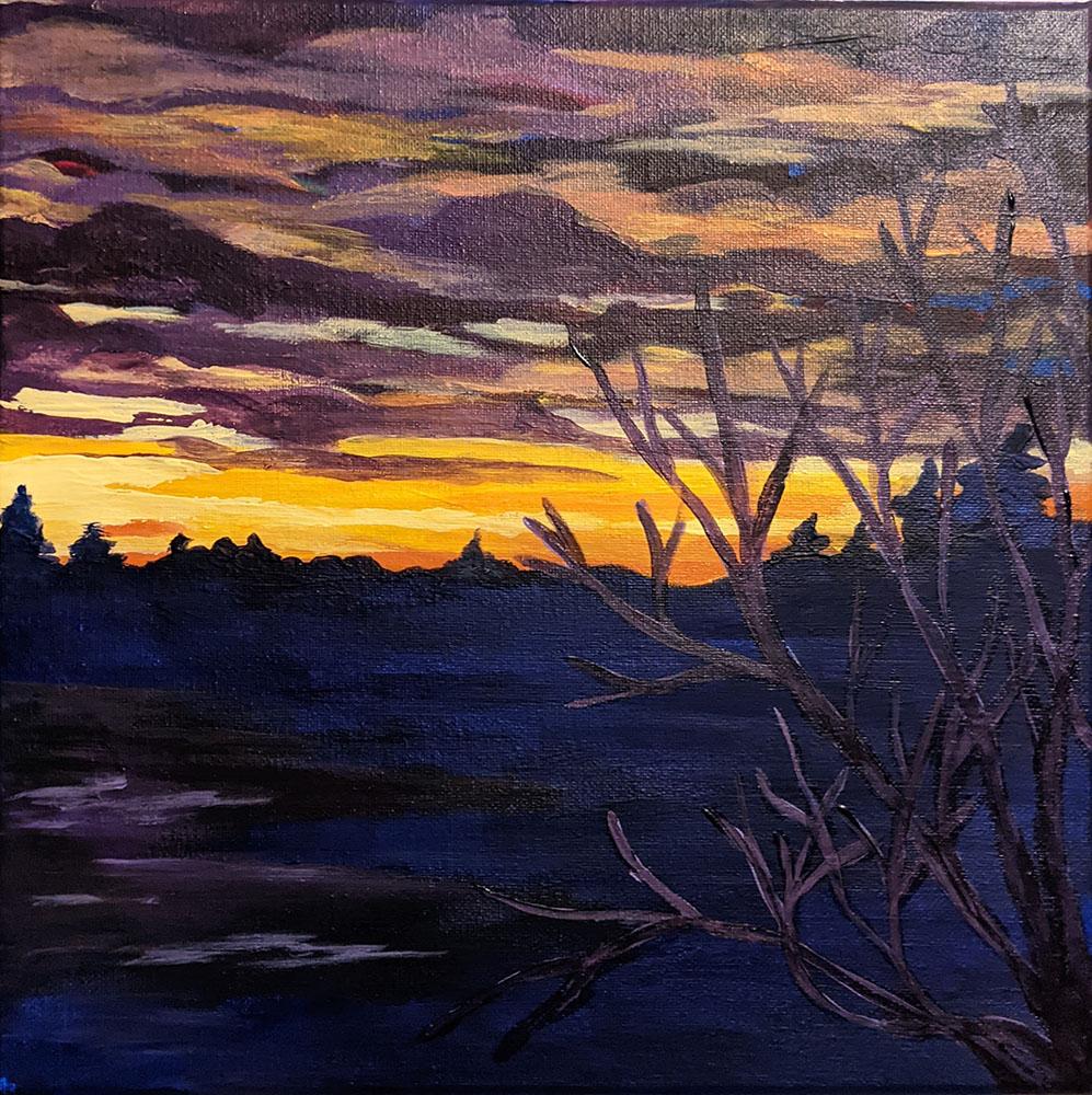 Moody Saskatchewan Sunset by Wendy Capp