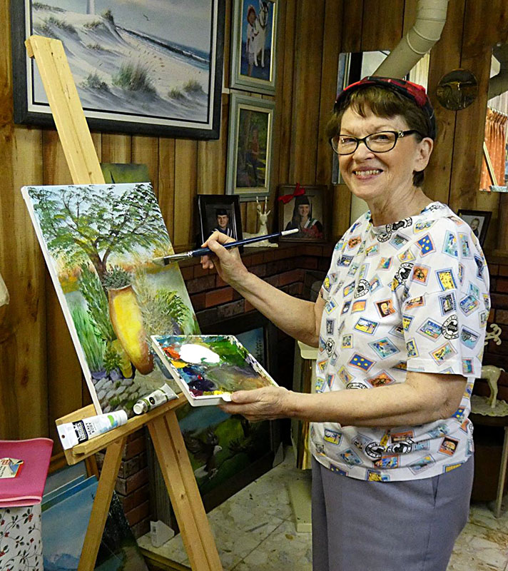 Jeanette Heathman Painting