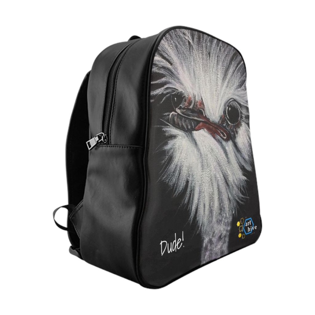 Dude! Ostrich Backpack