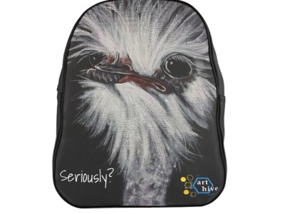 Seriously? Ostrich Backpack