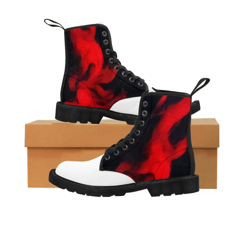 Fire Canvas Boots