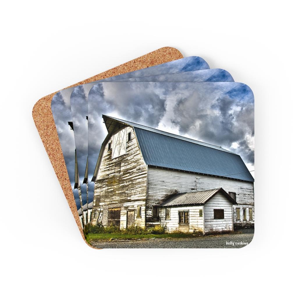 Blue Barn Coaster Set