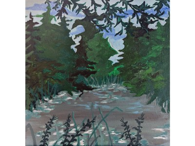 Pond View by Wendy Capp