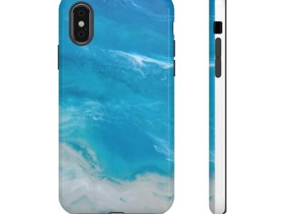 Ocean Shore Tough Phone Cases