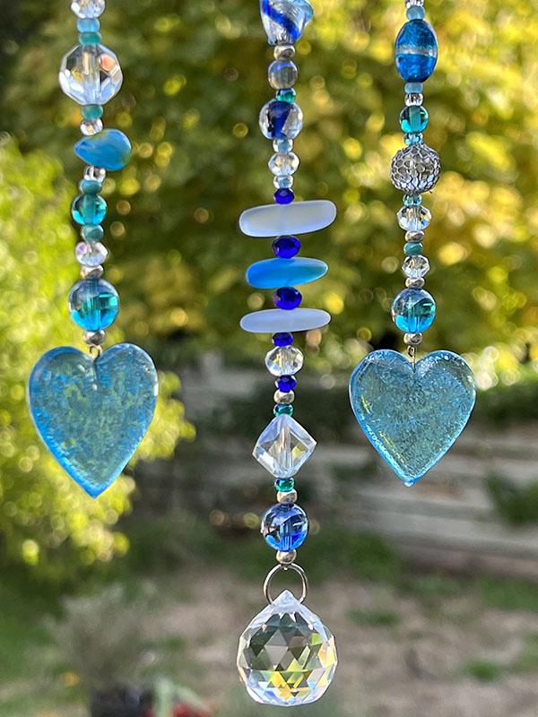 My Baby Blues Suncatcher by Sonia Hrybko