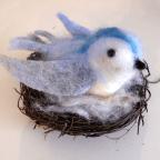 3D NF blue bird