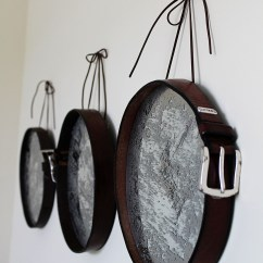 Diy Leather Belt Chair Extra Wide Beach 20 Unusual Ideas To Reuse And Recycle Old Belts The