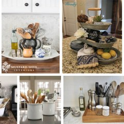 Diy Kitchen Counters Table Chandelier Storage-friendly Organization Ideas For Your ...