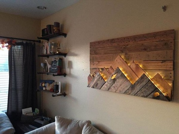 18 Ide Rancangan Lampu Hias Dinding untuk Indoor dan Outdoor